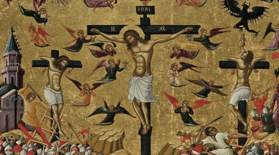 De kruisiging als archetypisch drama